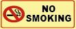 אסור לעשן אנגלית 20×10 2001