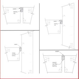 חומר משחתי לתפרי התפשטות / קירות מסך  FIRECLAMP A